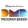 Disney Media Distribution Program Binder