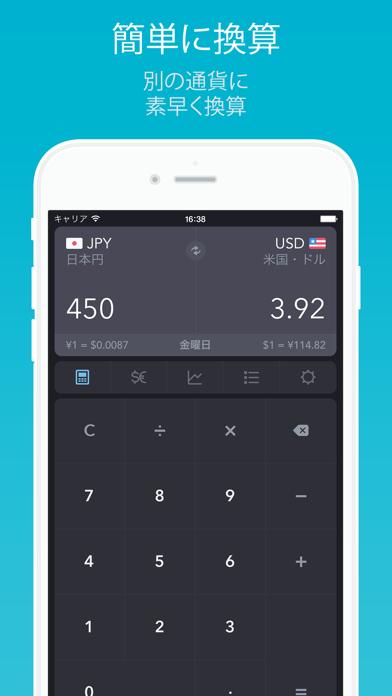 iCurrency Pad ScreenShot0