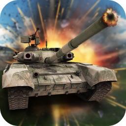 Tank Battle Demolition Derby-Tanks destroyer arena