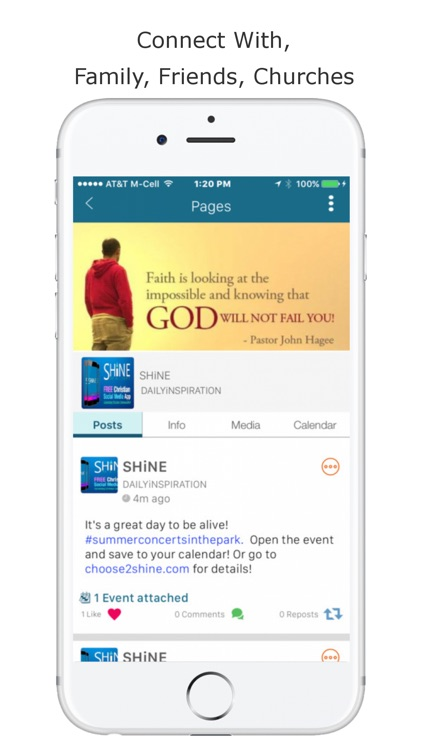 SHiNE Christian Social Network screenshot-4