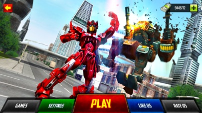 Monster Robot Hero City Battle screenshot one