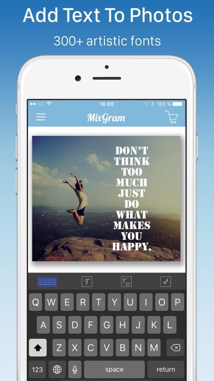 Pic Frames - Mixgram Editor screenshot-3
