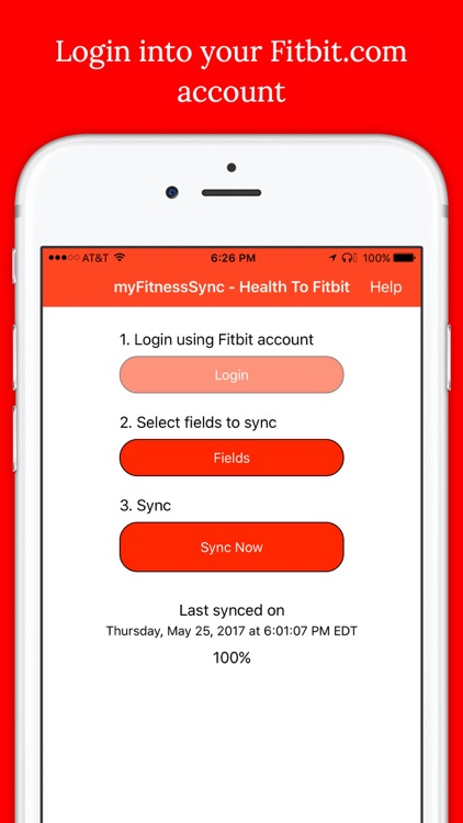 myFitnessSync for Fitbit - Apple Health to Fitbit