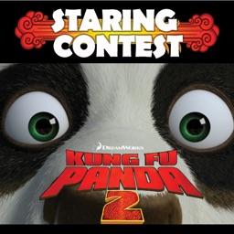 Kung Fu Panda 2 La mejor lucha de miradas.
