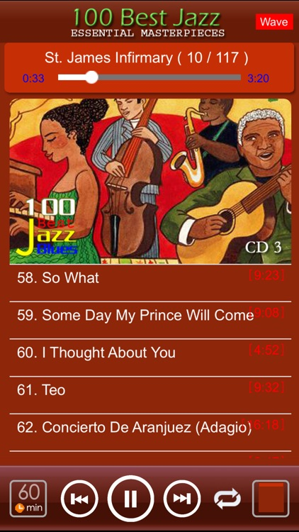 jazz blues music classic 100 screenshot-2