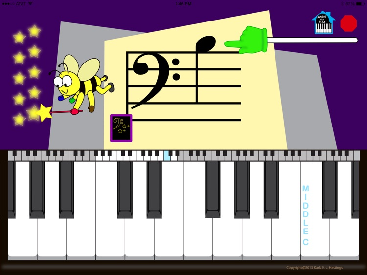 EZ Piano Notes