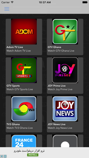 Africa Live TV on the App Store
