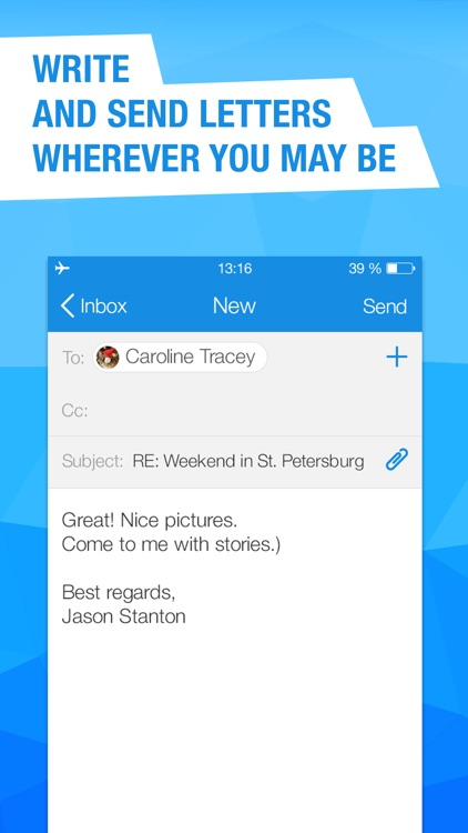Mail.Ru for UA - email client for all mailboxes screenshot-4