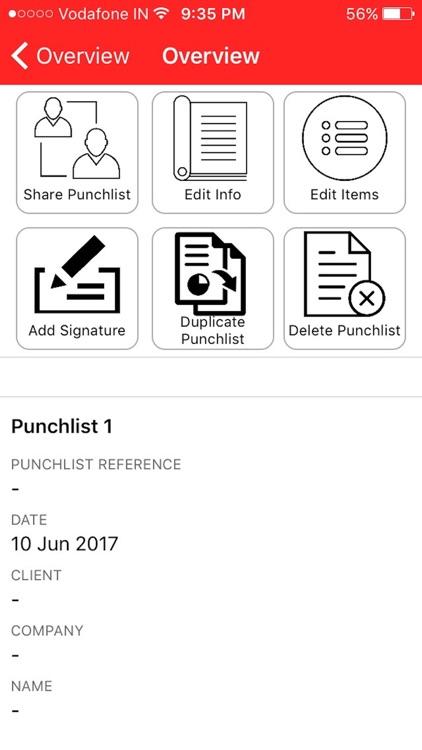 Punchlist Wiz screenshot-3