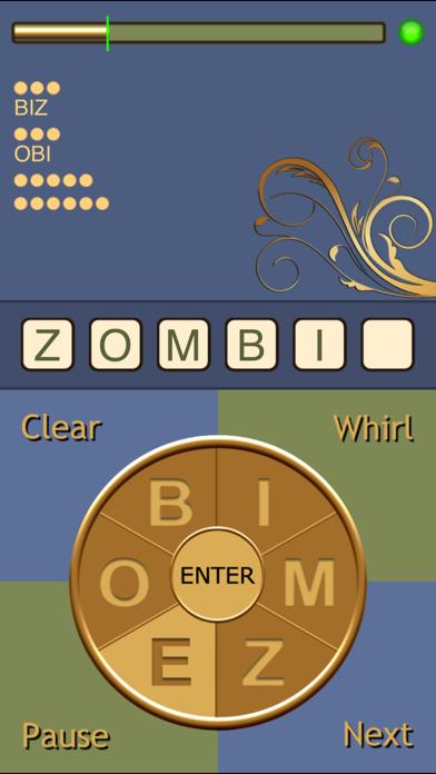 Whirly Word screenshot1
