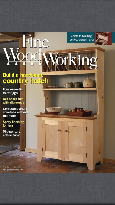 Fine Woodworking Magazine Screenshot