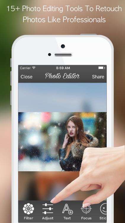 PicZone: Editor, Stickers & Collage Upto 60 Photos screenshot-3