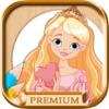涂料和颜料长发公主 - 教育游戏的女孩公主指纹 - PREMIUM版本
