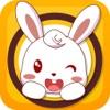小白兔拼图-幼儿益智拼图小游戏!
