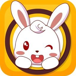 小白兔拼图-幼儿益智拼图小游戏