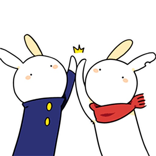 Big Rabbit - Animated Stickers And Emoticons