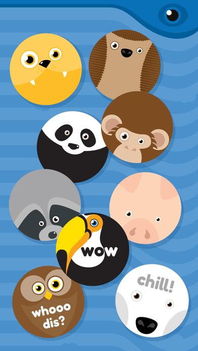 Roundimals Sticker Pack screenshot two