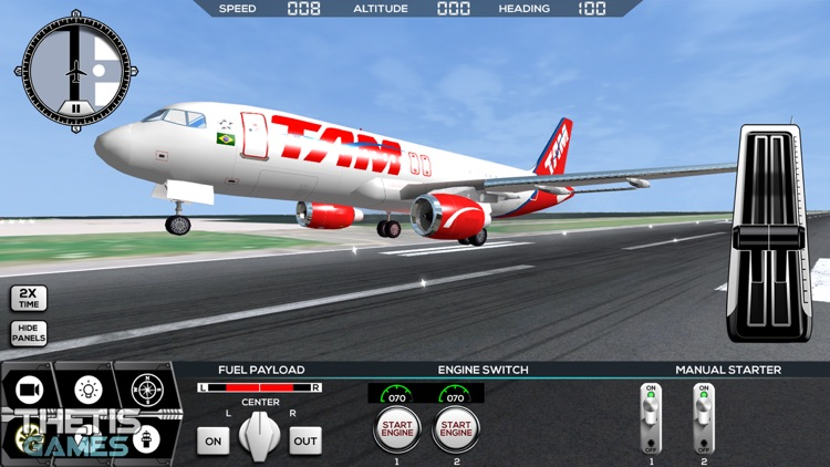 Flight Simulator FlyWings 2014 screenshot-4