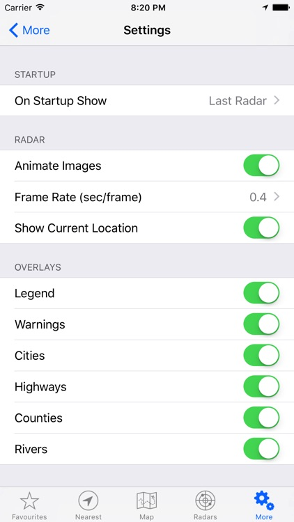 NOAA Weather Rain Radar screenshot-4