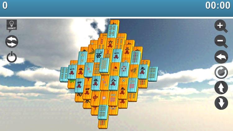 Mojo Mahjong 3D screenshot-3