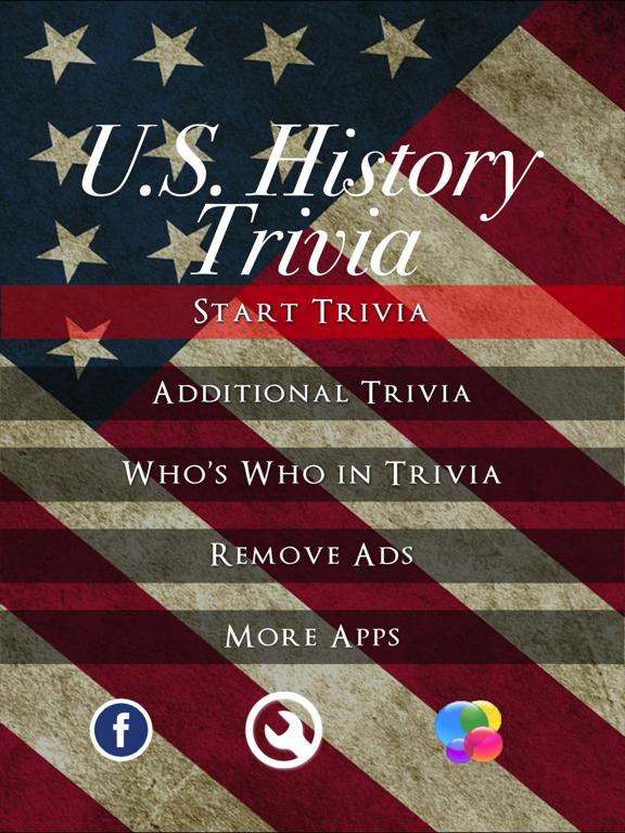 U.S. History Trivia - American History Quiz screenshot