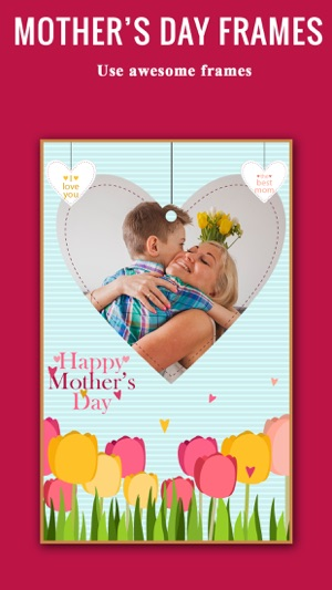 happy mother\'s day photo frames-photo collage app on the App Store