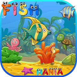 Fish Link Mania Match 3 Puzzle Games - Magic board