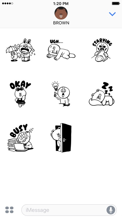 LINE FRIENDS Dynamic Stickers