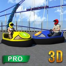 保险杠汽车拆除德比PRO紧急赛跑汽车 3D