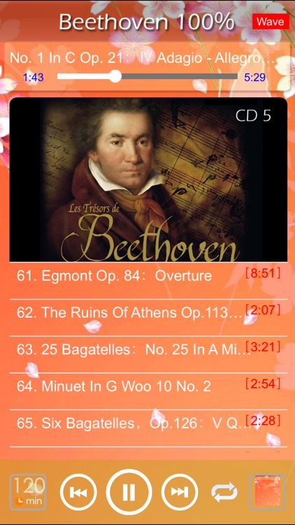 [5 CD] Beethoven Classic 100% screenshot-4