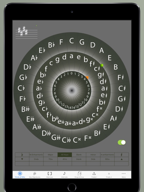 Circle of 5ths Master HD, 2nd Edition screenshot-1