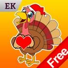 Emoji Kingdom бесплатно -рождество индейка Смайлики icon