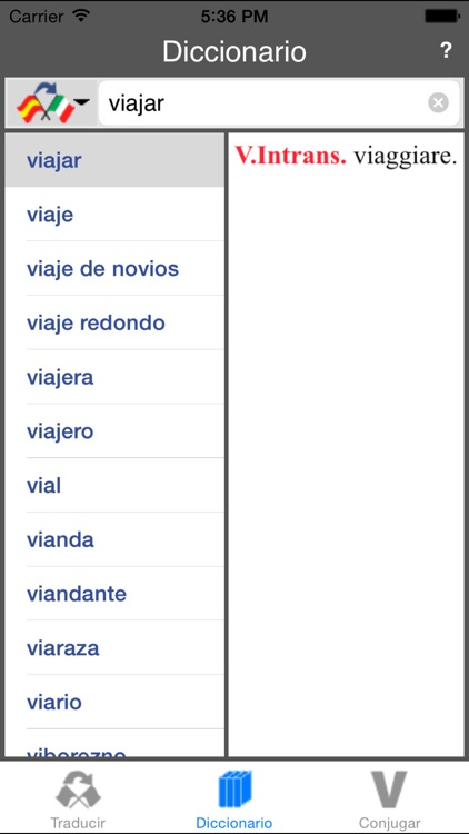 Traductor Español-Italiano (Offline) screenshot-3
