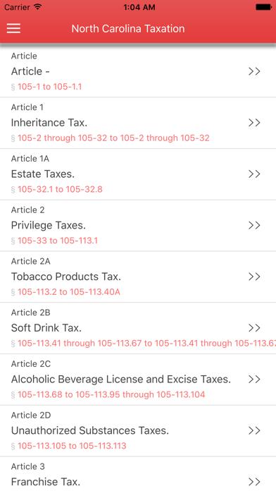 NC Taxation