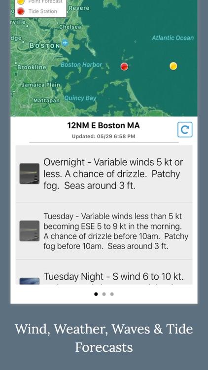 NOAA 5-day Marine Forecast screenshot-4