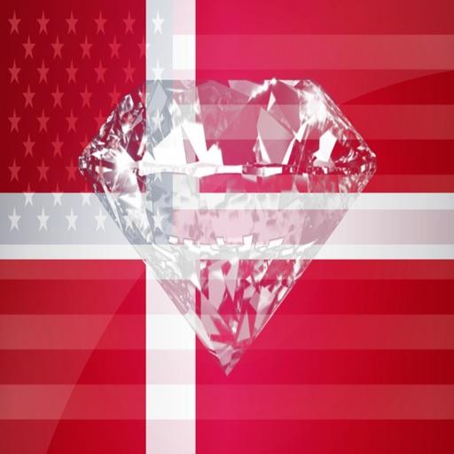 Danish Phrases Diamond 4K Edition icon
