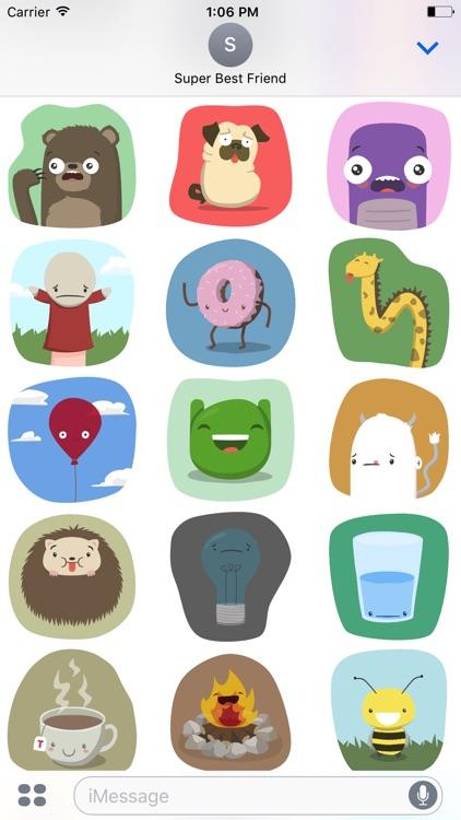 Far Too Cute Stickers screenshot-3