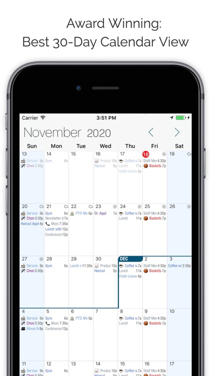 Informant 5 - Calendar, Task Planner with Email