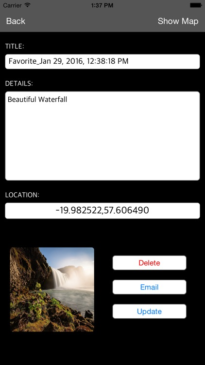 SANTORINI (GREECE) – Travel Map Offline Navigator screenshot-3