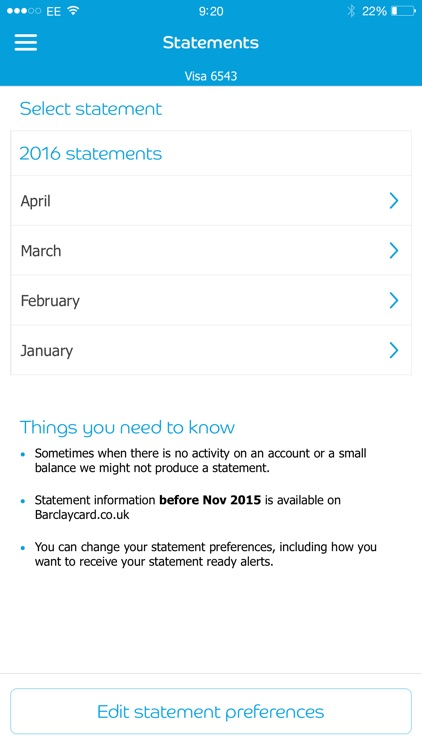 mybarclaycard screenshot-1