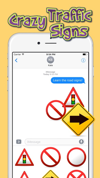 Crazy Traffic Signs – Stickers Pack