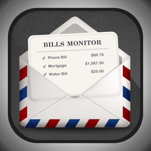 Bills Monitor Pro for iPad - Bill Manager & Minder