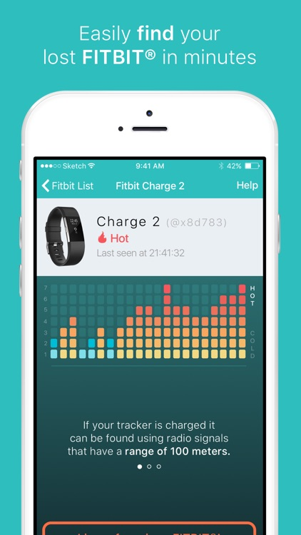 Find my Fitbit - Finder app for lost fitbits
