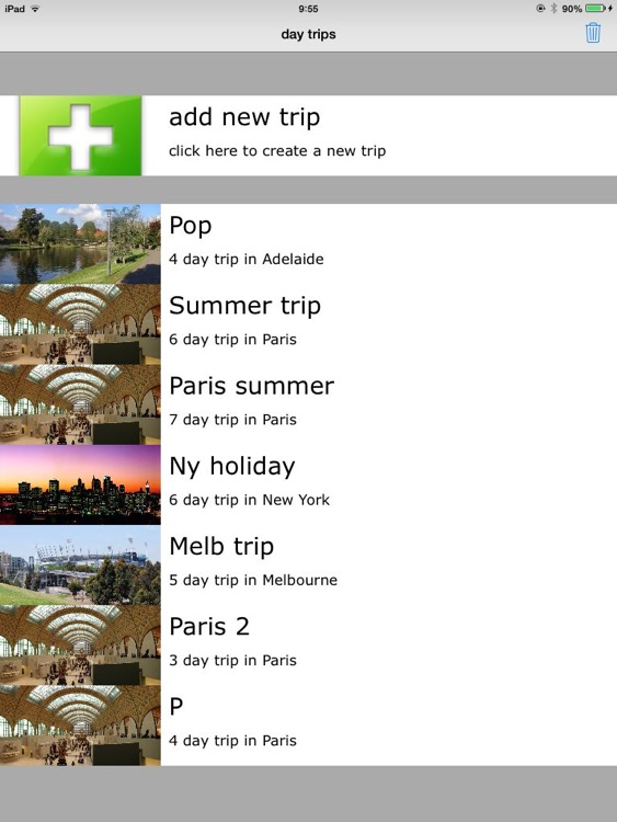 Day Trips Planner screenshot-2