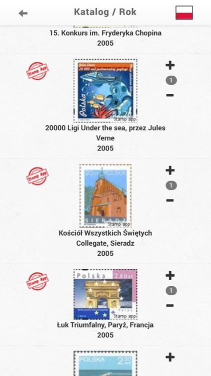 Stamps Poland, Philately screenshot-3