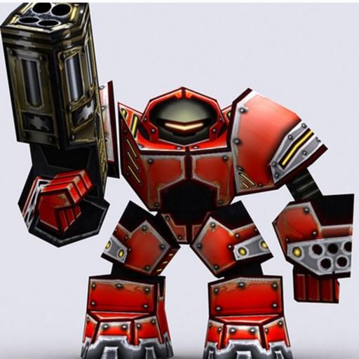 супер - механизмы войны: робот в стрелялки