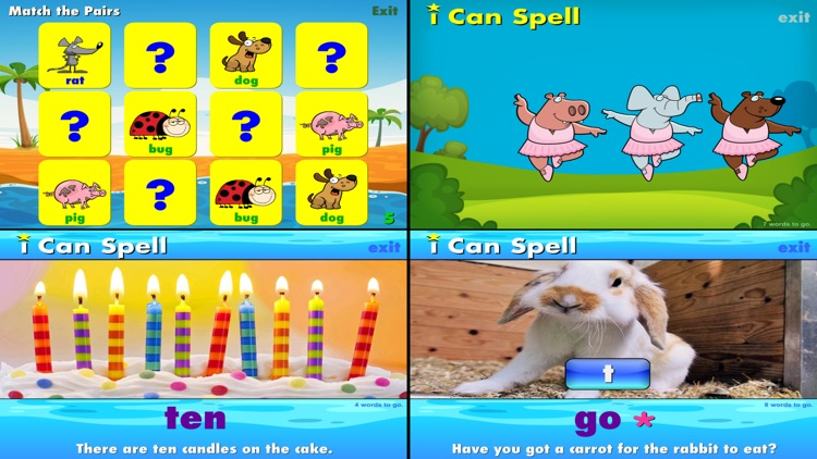 i Can Spell with Phonics CVC+ screenshot-3
