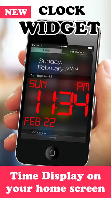 iDigital Big2 Alarm Clock - Biggest Time Display