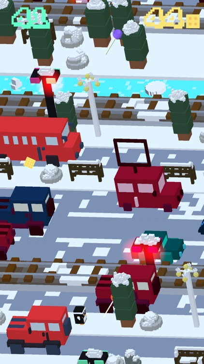 Candy Road - 3D Arcade Frogger