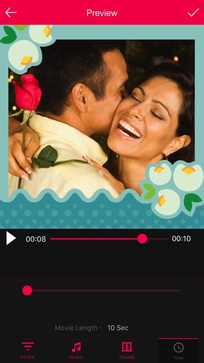 Anniversary Movie Maker with Music screenshot-4